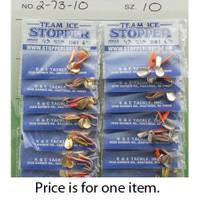 K&E Tackle Assorted Flipper Jig Ice Fishing Lures from Blain's Farm and Fleet