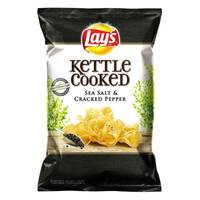 Lay's Sea Salt & Cracked Pepper Kettle Cooked Potato Chips from Blain's Farm and Fleet