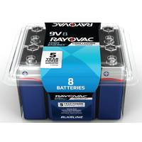 Rayovac 9V Alkaline Battery 8-Pack from Blain's Farm and Fleet