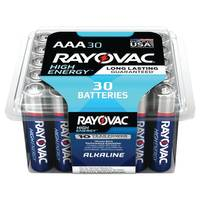 Rayovac AAA Alkaline Batteries 30-Pack from Blain's Farm and Fleet