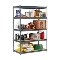 Edsal Heavy Duty 5 - Shelf Shelving Unit from Blain's Farm and Fleet