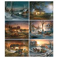White Mountain Puzzles Terry Redlin Evening Rehearsal Jigsaw Puzzle from Blain's Farm and Fleet