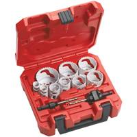 Milwaukee 13-PC GENERAL PURPOSE HOLE DOZER HOLE SAW KIT from Blain's Farm and Fleet