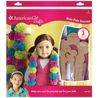 American Girl Crafts Pom-Pom Scarves Kit from Blain's Farm and Fleet