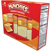 Frito Lay Munchies Cheetos Cheddar Cheese Sandwich Crackers from Blain's Farm and Fleet