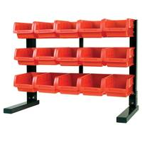 Performance Tool 15 Bin Table Top Storage Rack from Blain's Farm and Fleet