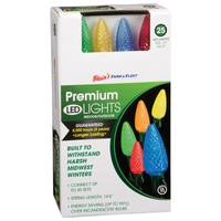 Blain's Farm & Fleet Premium Multi Colored C9 25-Light LED Cone Light Set from Blain's Farm and Fleet