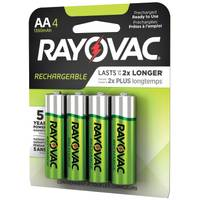 Rayovac AA Rechargeable Batteries 4-Pack from Blain's Farm and Fleet