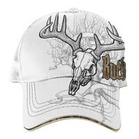 Buck Wear Men's Deer Tree Skull Baseball Cap from Blain's Farm and Fleet