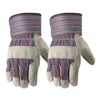 Wells Lamont Men's 2 Pack Leather Palm Gloves from Blain's Farm and Fleet