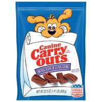 Canine Carry Outs Bacon Flavor Dog Treats from Blain's Farm and Fleet