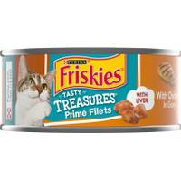 Friskies Tasty Treasures With Chicken & Cheese In Gravy from Blain's Farm and Fleet