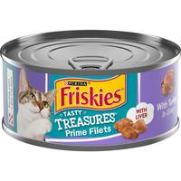 Friskies Tasty Treasures With Turkey & Cheese In Gravy from Blain's Farm and Fleet