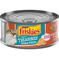 Friskies Tasty Treasues With Chicken, Tuna & Cheese In Gravy from Blain's Farm and Fleet