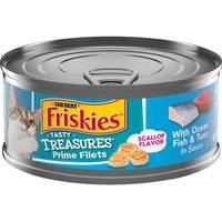 Friskies Tasty Treasures With Oceanfish, Tuna & Cheese In Gravy from Blain's Farm and Fleet