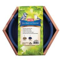 Kaytee Cedar Bird Bath and Feeder from Blain's Farm and Fleet