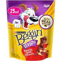 Beggin' Beef & Bacon Strips from Blain's Farm and Fleet