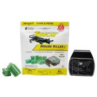Tomcat 1 oz Mouse Bait Blocks with Refillable Bait Station from Blain's Farm and Fleet