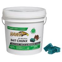 Hawk Rodent Bait Chunx Pail from Blain's Farm and Fleet