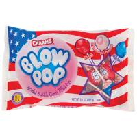 Charms Red White & Blue American Flag Blow Pops from Blain's Farm and Fleet