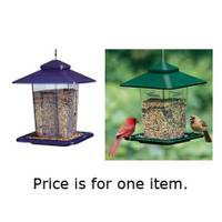 Audubon Prairie Style Plastic Bird Feeder from Blain's Farm and Fleet
