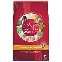 Purina One 31 lb Smartblend Adult Chicken and Rice Dog Food from Blain's Farm and Fleet