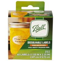 Ball 60-Pack Dissolvable Canning Labels from Blain's Farm and Fleet