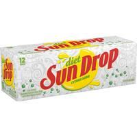 Sun Drop Diet - 12 Pack from Blain's Farm and Fleet