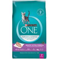 Purina One 7 lb Healthy Formula Dry Kitten Food from Blain's Farm and Fleet
