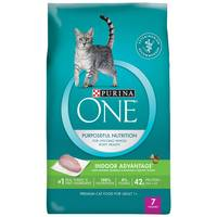 Purina One 7 lb Indoor Advantage Hairball & Healthy Weight Formula Dry Cat Food from Blain's Farm and Fleet