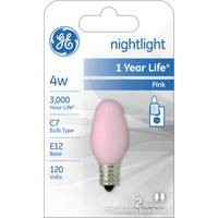 GE C7 Night Light Bulb 2 Pack from Blain's Farm and Fleet