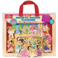 T.S. Shure Princesses, Ballerinas & Fairies Magnetic Wooden Playboard Set from Blain's Farm and Fleet