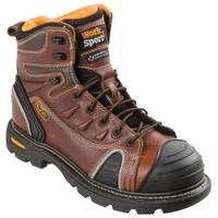 Work n' Sport Men's Brown Gen Flex II Steel Toe Work Boots from Blain's Farm and Fleet