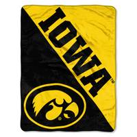 The Northwest Company University of Iowa Micro Fleece Throw from Blain's Farm and Fleet