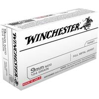 Winchester 9mm Nato 124 Grain Full Metal Jacket Ammunition from Blain's Farm and Fleet