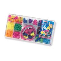 The Beadery Glitter Girl Bead Box Bracelet Making Kit from Blain's Farm and Fleet
