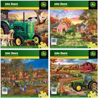 MasterPieces John Deere Celebration of the Past Puzzle Assortment from Blain's Farm and Fleet