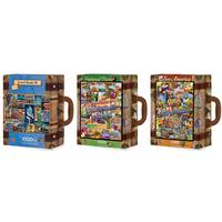 MasterPieces Travel Suitcases See America Puzzle Assortment from Blain's Farm and Fleet