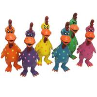 Multipet International Globkens Latex Chicken Dog Toy Assortment from Blain's Farm and Fleet