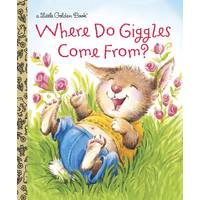 Little Golden Books Where Do Giggles Come From? Children's Book from Blain's Farm and Fleet