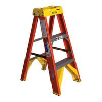 Werner Type 1A Fiberglass Step Ladder from Blain's Farm and Fleet