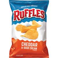 Ruffles Snack Size Cheddar & Sour Cream Potato Chips from Blain's Farm and Fleet