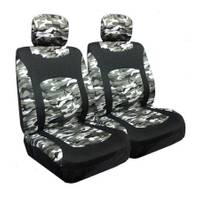 Allison Snow Camo Low Bucket Seat Covers from Blain's Farm and Fleet