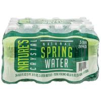 Nature's Crystal Bottled Water from Blain's Farm and Fleet