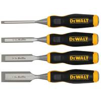 DEWALT 4 Piece Short Blade Wood Chisels from Blain's Farm and Fleet