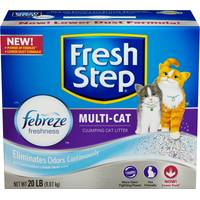 Fresh Step Multi - Cat Scoopable Cat Litter from Blain's Farm and Fleet