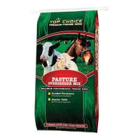 Top Choice Overseeder Pasture Premium Forage Seed Mix from Blain's Farm and Fleet