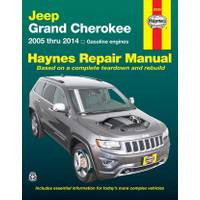 Haynes Jeep Grand Cherokee, '05-'14 Manual from Blain's Farm and Fleet