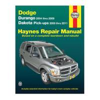 Haynes Dodge Durango (04-09) & Dakota Pick-Ups (05-11) Manual from Blain's Farm and Fleet