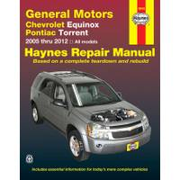 Haynes Chevrolet Equinox & Pontiac Torrent, '05-'12 Manual from Blain's Farm and Fleet